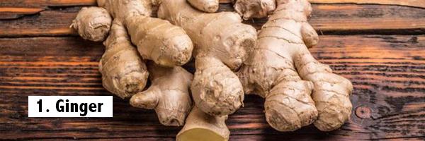 ginger-best-fat-burning-foods