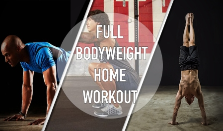 full home bodyweight workout