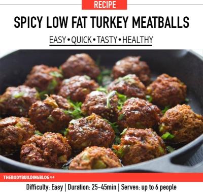 spicy-low-fat-turkey-meatballs-recipes